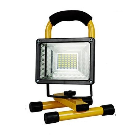 220V100W投射燈室外LED可充電投光燈應急燈行動工作燈工地手提式泛ATF 沸點奇跡