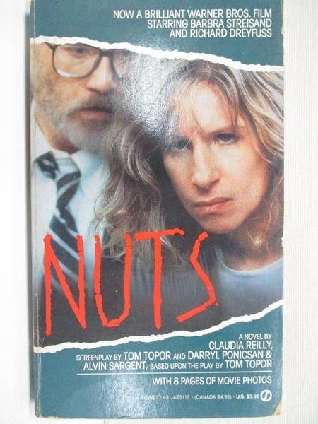 【書寶二手書T1/原文小說_BRU】Nuts_Claudia Reilly