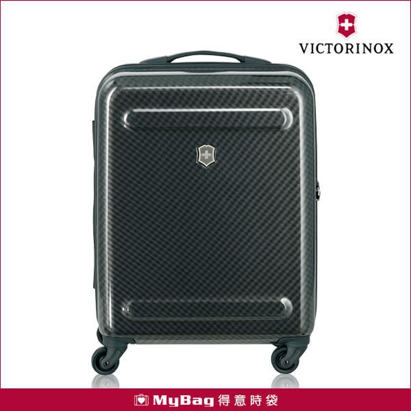 Victorinox 瑞士維氏 行李箱 ILLUSION 黑色 20吋 硬殼旅行箱 大容量 靜音輪 TRGE-602781 MyBag得意時袋