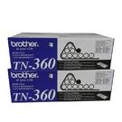 【二支組合】Brother TN-360 黑色原廠碳粉匣 適用HL-2140 2170W MFC-7340 7440N DCP-7030 7040