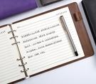 橫款活頁筆記本子可替換