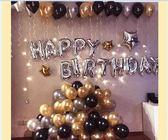 生日氣球布置套餐求婚浪漫兒童寶寶周歲生日快樂派對裝飾用品背景