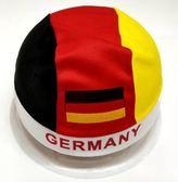 世界盃帽子足球助威頭巾方巾德國巴西法國旗