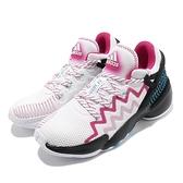 adidas 籃球鞋 D.O.N Issue 2 Gwen Stacy 白 粉 男鞋 愛迪達 蜘蛛人 【ACS】 FZ1432