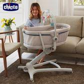 chicco-BABY HUG多功能成長安撫嬰兒床-雅痞灰