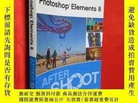 二手書博民逛書店Photoshop罕見Elements 8 After the