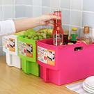 ✭米菈生活館✭【A09】加高帶手把收納籃 置物 分類 儲物 手柄 櫥櫃 吊櫃 大容量 居家 提籃 雜物