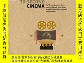 二手書博民逛書店30-Second罕見Cinema 英文原版 30秒系列:電影院