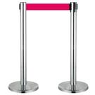 (單支價) 不銹鋼伸縮欄柱(室內型)/E86S (伸縮圍欄)