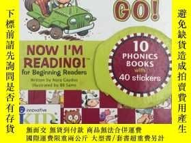 全新書博民逛書店NowI m Reading!: on the Go!: Lev