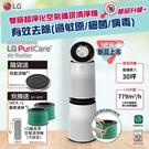 LG AS101DWH0 PuriCare Wifi 360°空氣清淨機(白色)