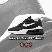 【六折特賣】Nike 休閒鞋 Air Max 270 React 黑 白 氣墊 男鞋 【ACS】 CI3866-004