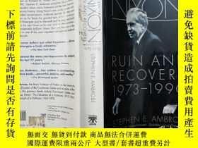 二手書博民逛書店NIXON罕見RUIN AND RECOVERY 1973 - 1990 (尼克松的廢墟和恢復)Y14489