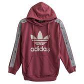 Adidas 愛迪達 HOODIE  連帽長袖上衣 DU4429 女 健身 透氣 運動 休閒 新款 流行