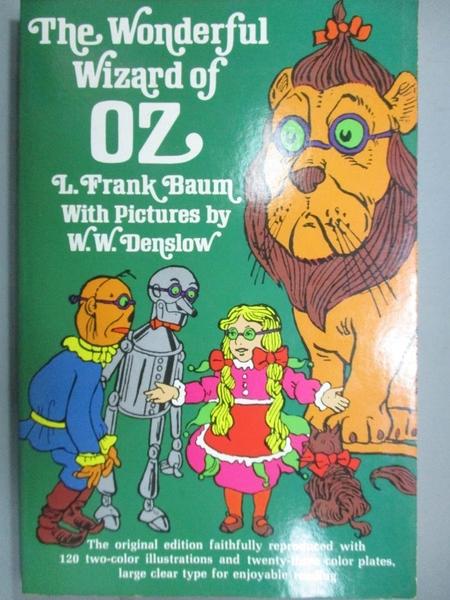 【書寶二手書T3/少年童書_LPS】Wonderful Wizard of Oz_Baum, L. Frank