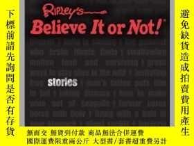 二手書博民逛書店Ripley s罕見Unbelievable Stories For GuysY410016 Ripley