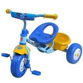 祺月兒童三輪車1-3歲輕便幼童推車腳踏車寶寶溜娃神器自行車童車  ATF  poly girl