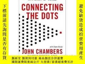 二手書博民逛書店英文原版罕見以點連線:創業世界的領導課 Connecting t