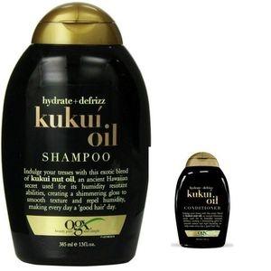 美國Ogx夏威夷堅果油洗髮乳*2+潤髮乳*1