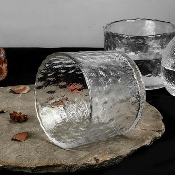 玻璃酒壺創意玻璃冰酒壺冰酒器酒具套裝溫酒器暖酒器熱酒燙酒壺酒杯清酒壺 亞斯藍