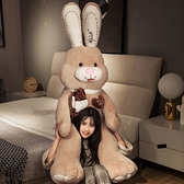 毛絨玩具 大號兔子毛絨玩具女生布娃娃公仔可愛睡覺抱枕玩偶女孩萌韓國懶人【快速出貨】