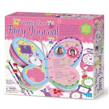 《4M美勞創作》My Very Own Fairy Journal 花精靈收藏日誌 ╭★ JOYBUS玩具百貨