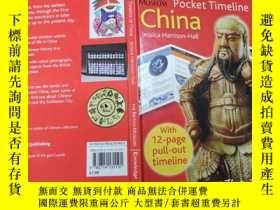 二手書博民逛書店pocket罕見timeline of chinaY271632