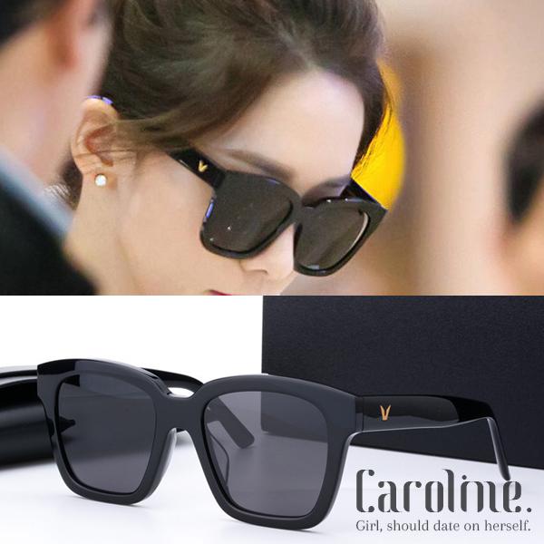 《Caroline》年度最新.少女時代允兒同款潮人百搭明星抗UV太陽眼鏡 69337 標檢局D74321