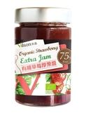 【米森 vilson】有機草莓厚果醬(225g/罐)