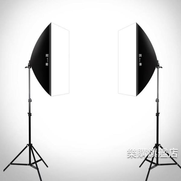 攝影燈攝影棚小型攝影燈箱拍照燈箱攝影器材產品拍攝道具柔光燈箱led燈 耶誕交換禮物wy