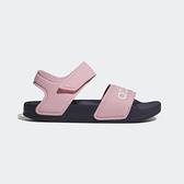 ADIDAS ADILETTE SANDAL K [G26876] 童鞋 涼鞋 拖鞋 雨鞋 水鞋 海灘 游泳 戲水 粉紅