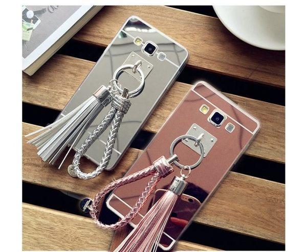 流蘇tpu鏡面軟套 SAMSUNG Note5/Note4/Note3 手機殼 手機套 軟殼