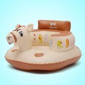 幼嬰兒充氣小沙發寶寶學坐椅加大加厚浴凳便攜BB多功能兒童餐座椅