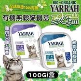 48H出貨*WANG*歐瑞YARRAH《有機無穀貓餐盒》100G 貓餐盒 二種口味任選