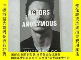 二手書博民逛書店Actors罕見Anonymous 詹姆斯弗蘭科:無名演員Y22
