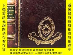 二手書博民逛書店1899年罕見MACAULAY S LAYS OF ANCIENT ROME WITH IVRY AND THE