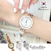 正韓STACCATO唯美華麗質感圓框鍊帶錶 手錶【WST406】璀璨之星☆