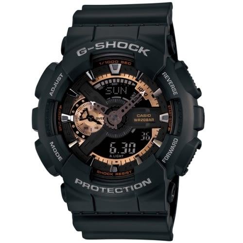 CASIO G-SHOCK重機帥氣運動腕錶/GA-110RG-1ADR