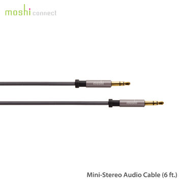 【A Shop】 Moshi 3.5mm - 3.5mm 立體聲公對公音源線
