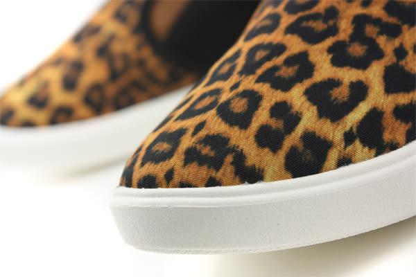 Crocs 休閒鞋 豹紋 女鞋 no348