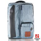 【禾雅】- OUTDOOR TEAM時尚休閒系列 -【OD8827-LB00】- 韓系 休閒 直拉鏈質感大容量後背包 -【淺藍】