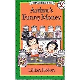 〈汪培珽英文書單〉〈An I Can Read系列:Level 2 〉Arthur's Funny Money /讀本
