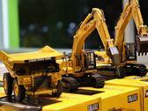 模型車 合金模型 靜態模型 工程車 非遙控 怪手模型 打樁機模型 礦產車模型