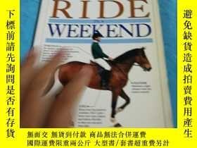 二手書博民逛書店LEARN罕見RIDE WEEKEND,好像是怎麼騎馬的指南Y1