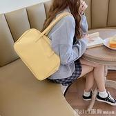 側背包 自制包包女2020新款韓國學院風單肩ins超火大容量百搭休閒包 開春特惠