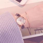 手錶 譚鬆韻同款手錶女韓版簡約中學生潮流ulzzang氣質復古小清新百搭 小宅女大購物