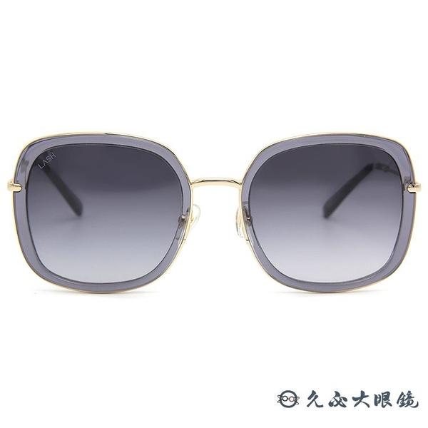LASH 墨鏡 Relief GR05 (透灰-金) 蔡司鏡片 復刻版 韓國 太陽眼鏡 久必大眼鏡