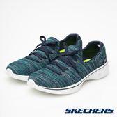 SKECHERS (女) GO WALK 4 健走系列 / 藍綠