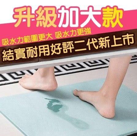 [24H現貨 賠本下殺][加大款] 60cm*39cm 日本 快乾 珪藻土吸水 地墊 防水墊 腳踏墊 浴室 客廳 硅藻土