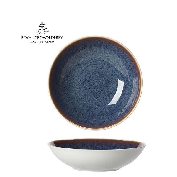 英國Royal Crown Derby-Art Glaze藝術彩釉系列-22.5CM義式餐碗-黛紫